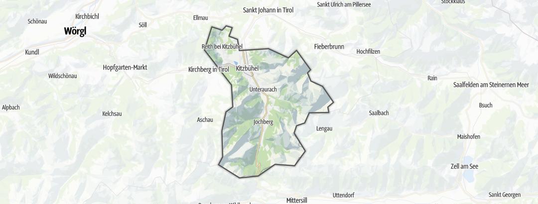 Map / Kitzbuehel