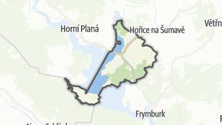 מפה / Cerna v Pošumaví