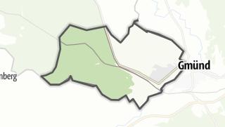 Karte / České Velenice