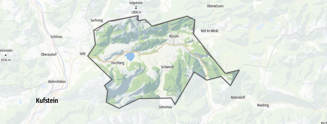 Carte / Eau & Vent - Kaiserwinkl