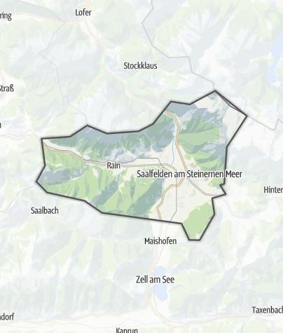 Karte / Saalfelden Leogang