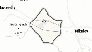 Mapa / Březí