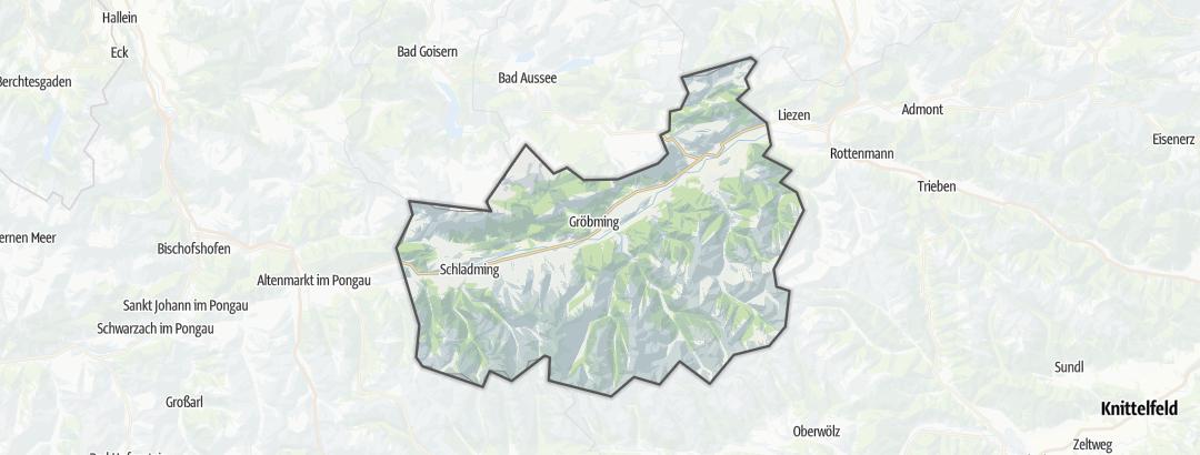 地图 / 在Schladming-Dachstein里的无障碍旅游