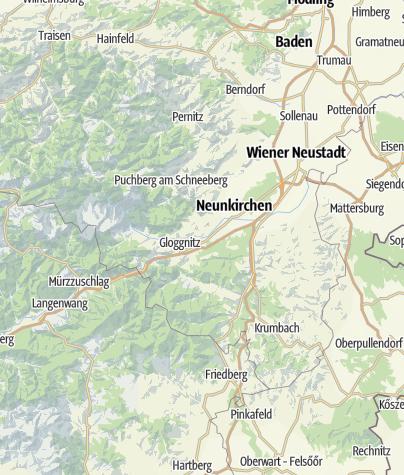 Karte / Wiener Alpen