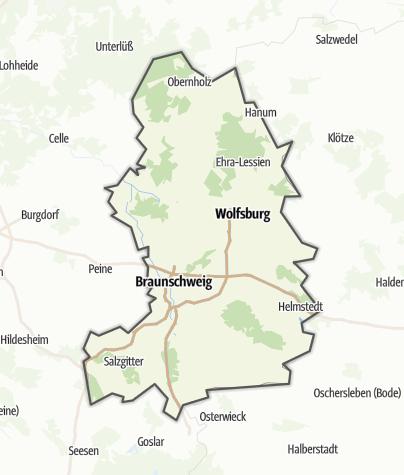 Karte / Braunschweiger Land