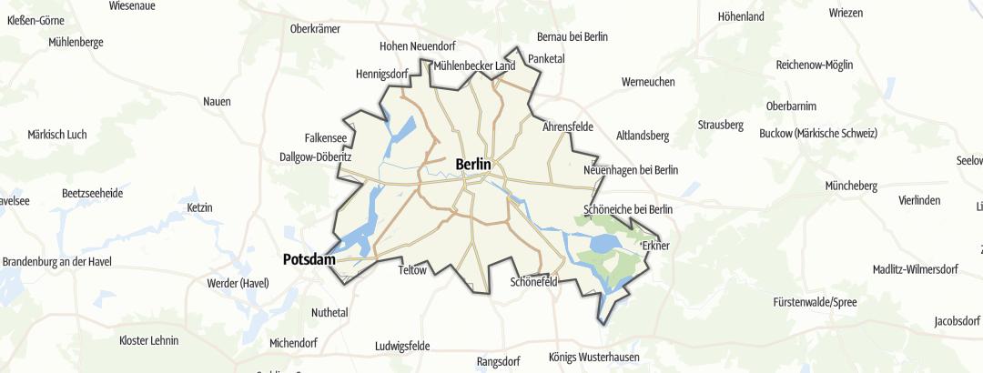 Karte / Radfahren in Berlin