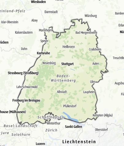 Karte / Baden-Württemberg