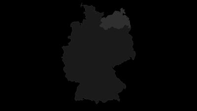 Map / Mecklenburg-Vorpommern