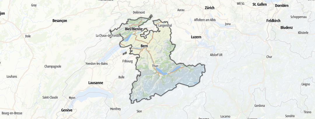 Map / Viewpoints in Bern