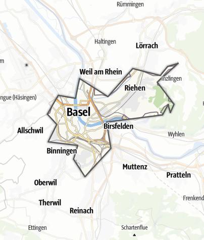 Karte / Basel-Stadt