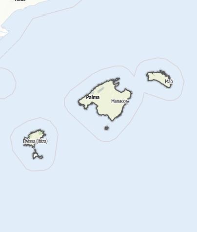 Karte / Balearen
