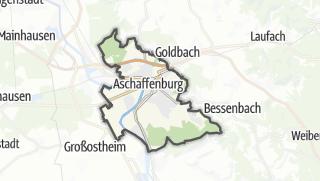 地图 / Aschaffenburg
