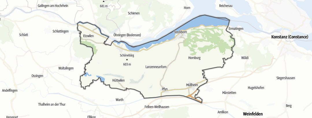 Karte / Steckborn
