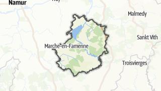 Cartina / Marche-en-Famenne