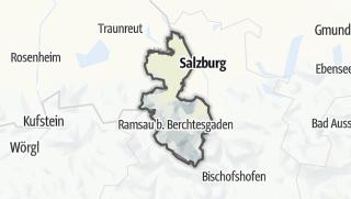 Cartina / Berchtesgadener Land