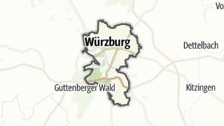 Cartina / Würzburg