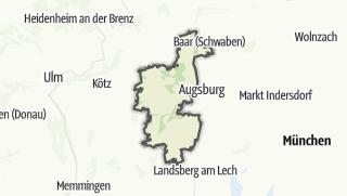Map / Augsburg