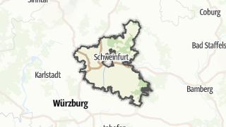Cartina / Schweinfurt