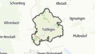 Mapa / Tuttlingen