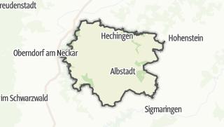 地图 / Zollernalbkreis
