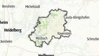 Karte / Neckar-Odenwald-Kreis