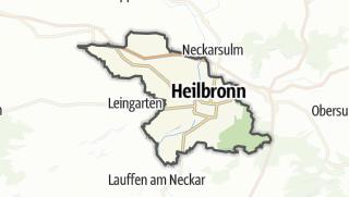 地图 / Heilbronn