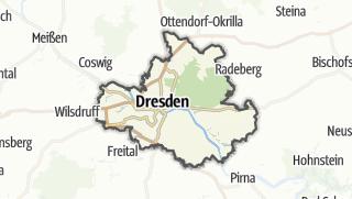 Karte / Dresden