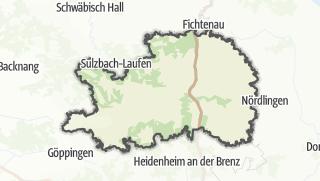 Karte / Ostalbkreis