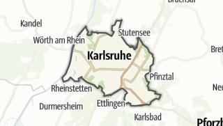 Karte / Karlsruhe