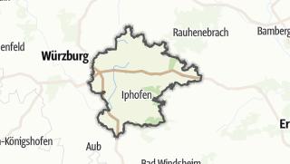 Cartina / Kitzingen
