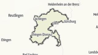 地图 / Alb-Donau-Kreis
