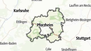 地图 / Enzkreis