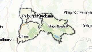 Karte / Breisgau-Hochschwarzwald