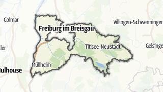 地图 / Breisgau-Hochschwarzwald