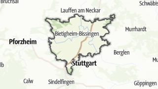 Cartina / Ludwigsburg