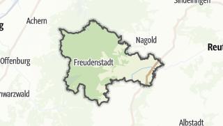 Karte / Freudenstadt
