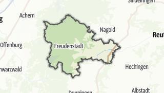 地图 / Freudenstadt
