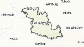 Karte / Main-Tauber-Kreis