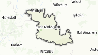 מפה / Main-Tauber-Kreis