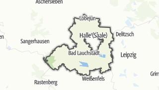 Cartina / Saalekreis