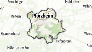 地图 / Pforzheim