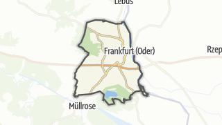 Cartina / Frankfurt (Oder)