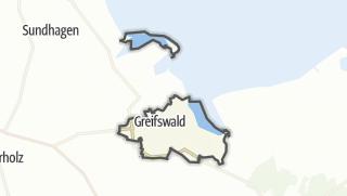 地图 / Greifswald