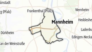 Mapa / Ludwigshafen am Rhein