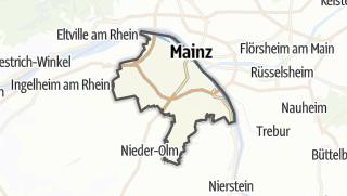 Karte / Mainz
