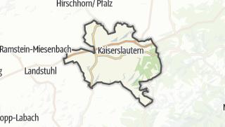 地图 / Kaiserslautern