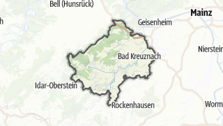Mapa / Bad Kreuznach