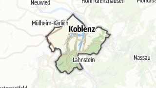 Karte / Koblenz