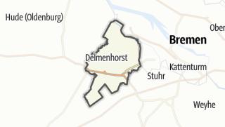 地图 / Delmenhorst