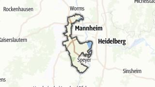 Karte / Rhein-Pfalz-Kreis